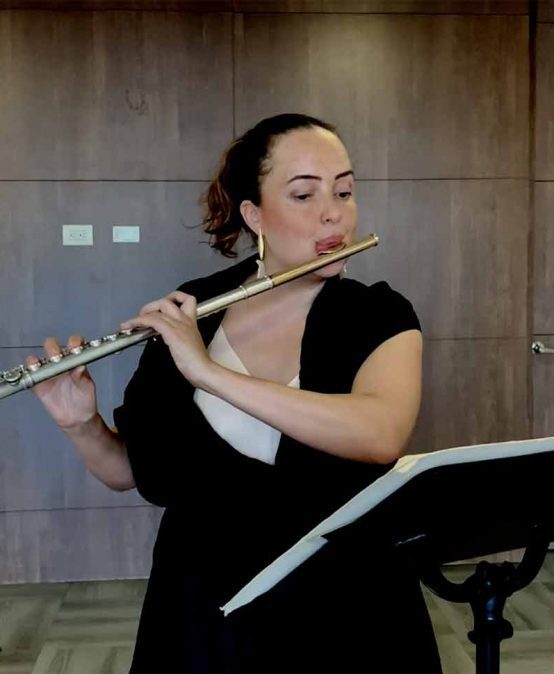 Concierto del mediodía: Elizabeth Osorio, flauta (Colombia)