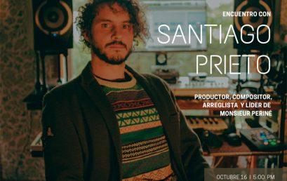 Encuentro con Santiago Prieto | Charlas AES