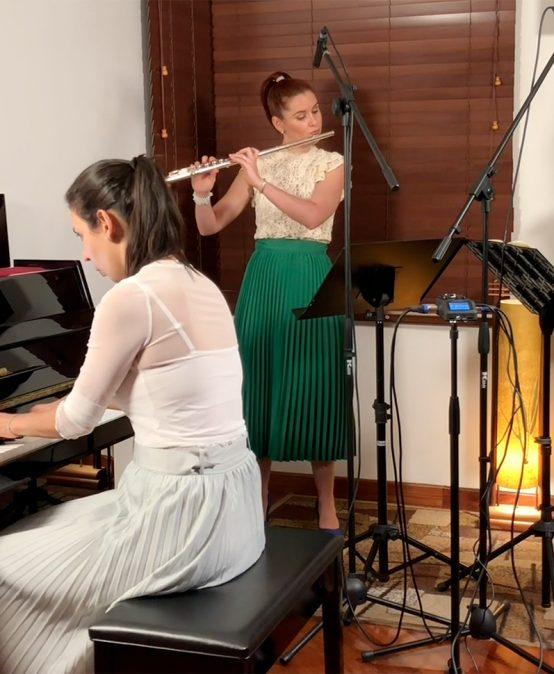 Concierto del mediodía: Trío Arewa, dos flautas y piano (Colombia)