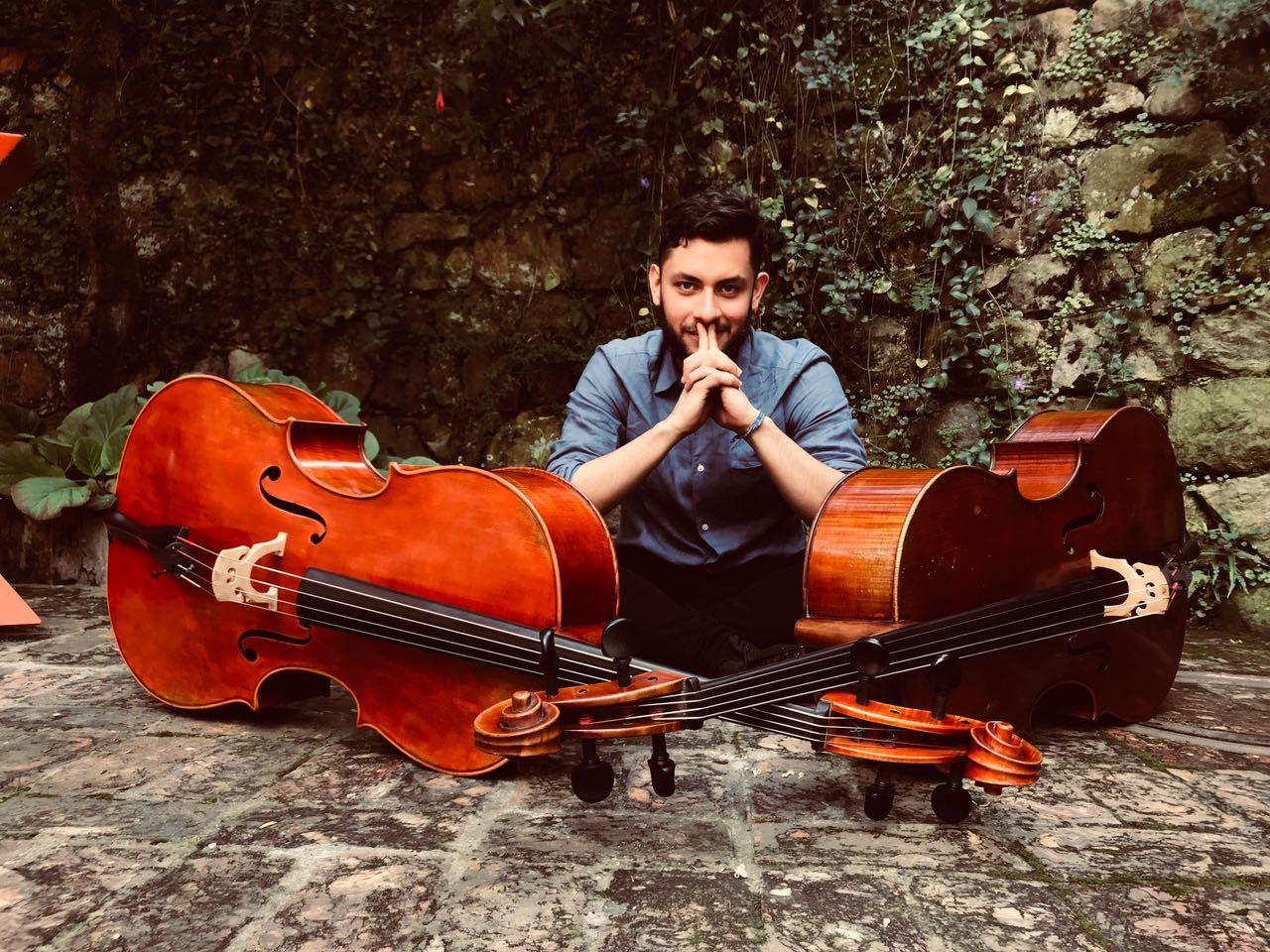 Andrés Poveda, estudiante de música, se llevó el segundo puesto de la competencia de composición del CILASiM