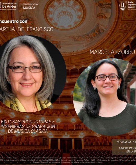 Encuentro con Martha de Francisco y Marcela Zorro | Charlas AES