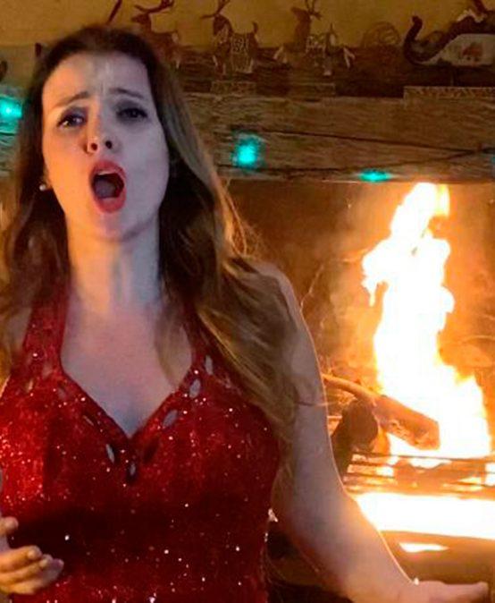 Mónica Danilov cantará en el concierto Merry & Bright