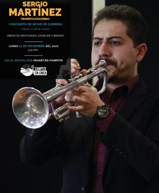Recital de mitad de carrera | Sergio Martínez, trompeta