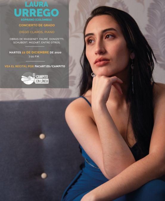 Recital de grado | Laura Urrego, canto