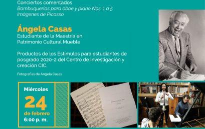 Concierto comentado | De documento musical a patrimonio cultural: Dos obras del compositor colombiano Luis Antonio Escobar