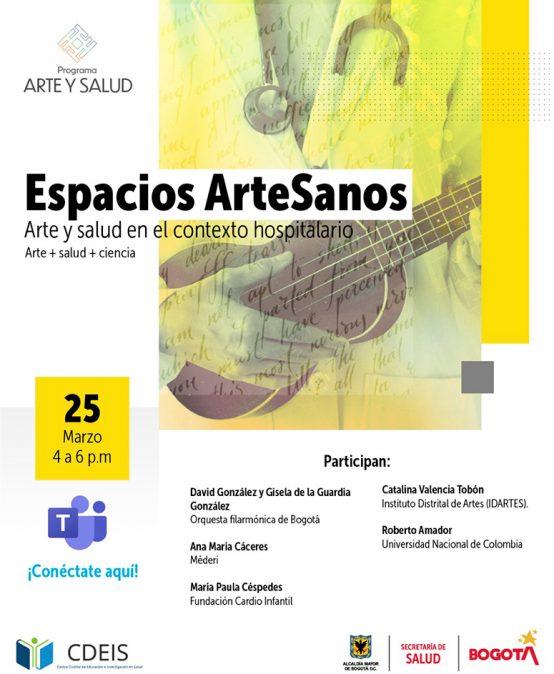 Espacios ArteSanos: Arte y salud en el contexto hospitalario
