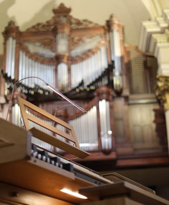 Ponencia: La música en la catedral de Bogotá en la primera mitad del siglo XIX, a cargo de Rondy Torres