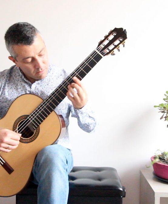 Concierto del mediodía: Andrés Villamil, guitarra