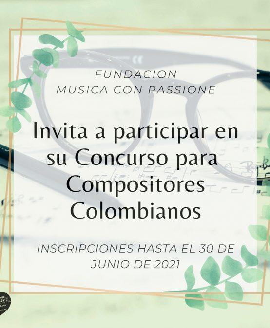 Concurso de composición sinfónica 2021 – 2022   Fundación Música con Passione