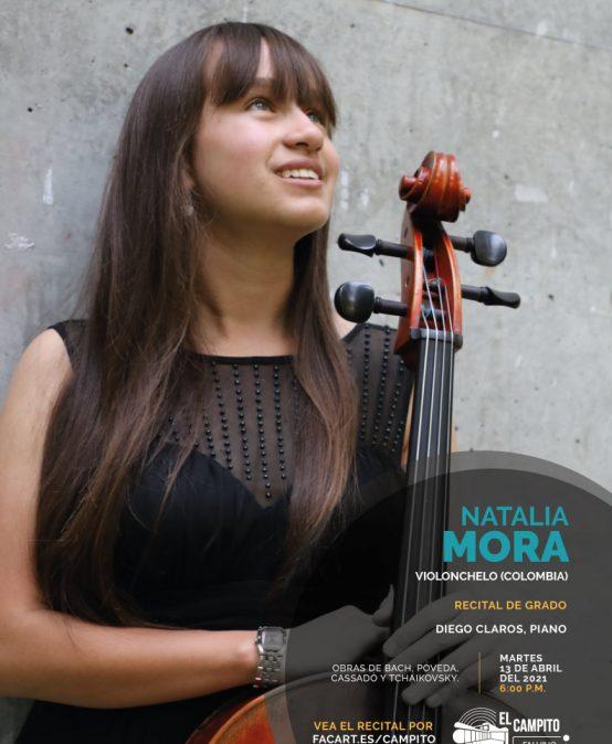 Recital de grado: Natalia Mora, violonchelo