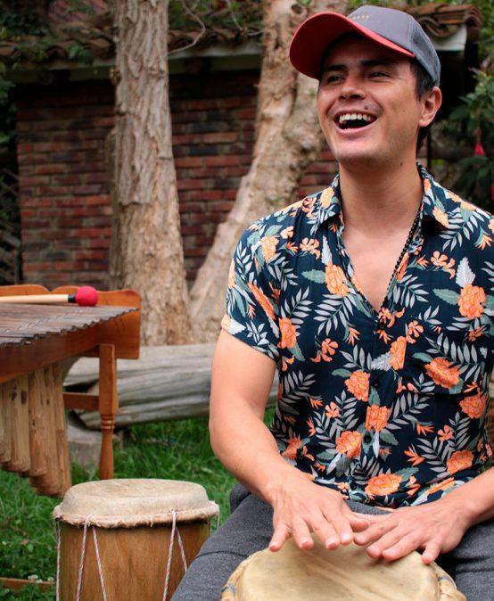 Concierto del mediodía: Adrián Sabogal, marimba de chonta (Colombia)