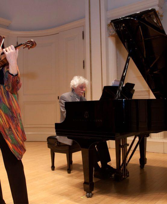 Concierto del mediodía: Ala Voronkova y Guerassim Voronkov, violín y piano