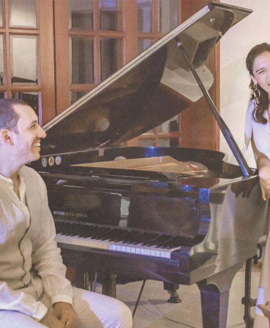 Concierto del mediodía: Con Alma dueto | Santiago Melo y Kate Ortega