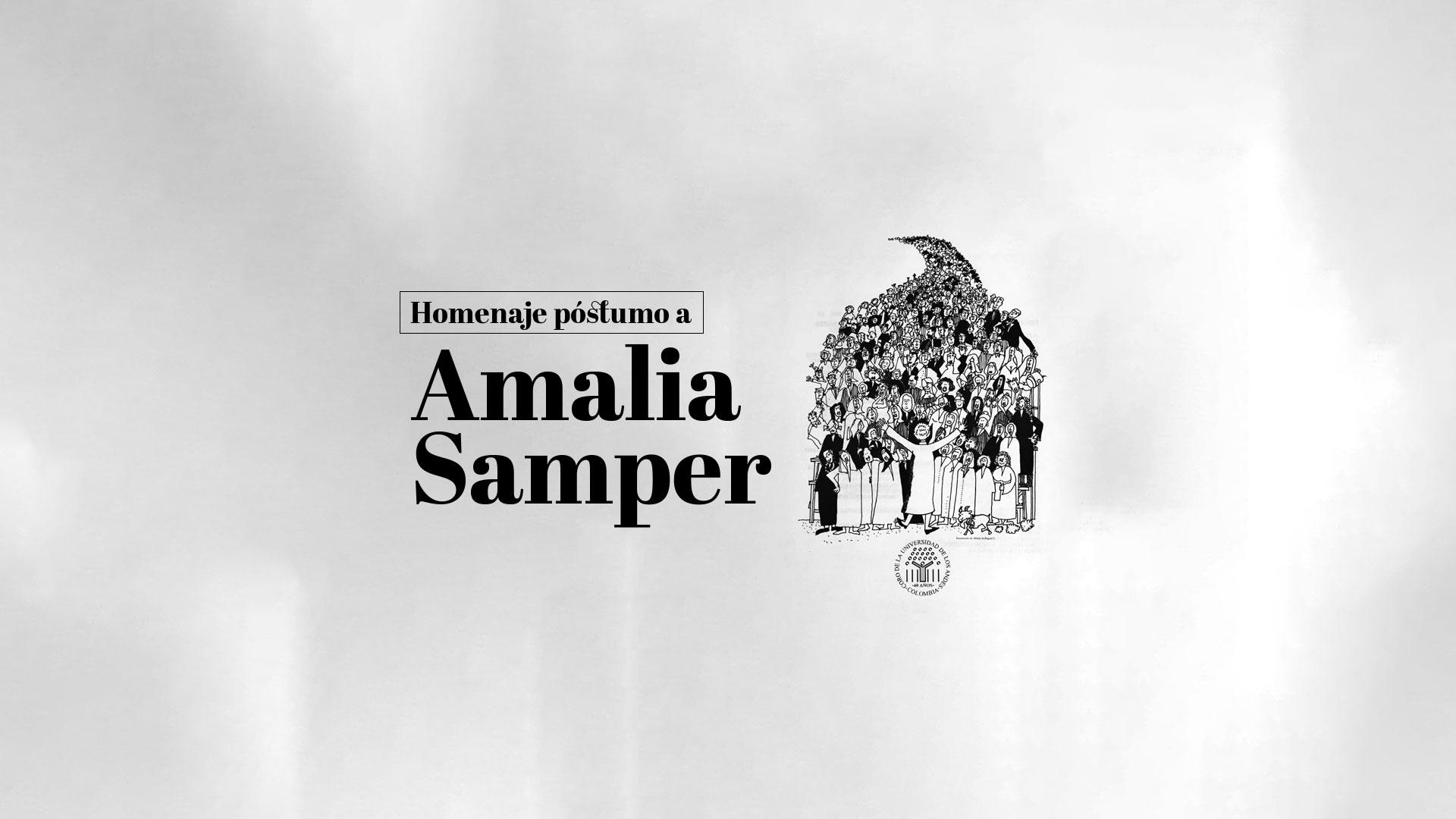 ¡Por muchos años, Amalia!