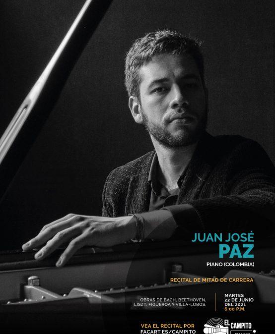 Recital de mitad de carrera | Juan José Paz, piano