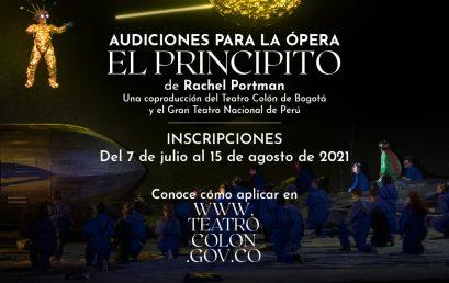 Audiciones para la ópera El Principito de Rachel Portman