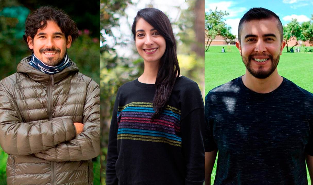 Tres nombramientos en la Facultad de Artes y Humanidades en 2021-2: Darío Velandia, Juana Monsalve y José Manuel Villamarín