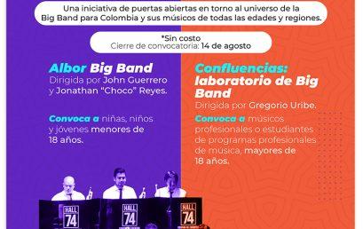 Escuela de Big Band | Campamento virtual en jazz, dirigido por Gregorio Uribe y John Guerrero