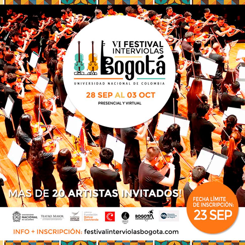 Mauricio Arias-Esguerra se presenta en el Festival Interviolas