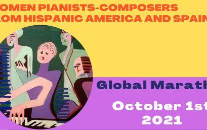 Uniandes en la 1ª Maratón de pianistas-compositoras de Hispanoamérica y España