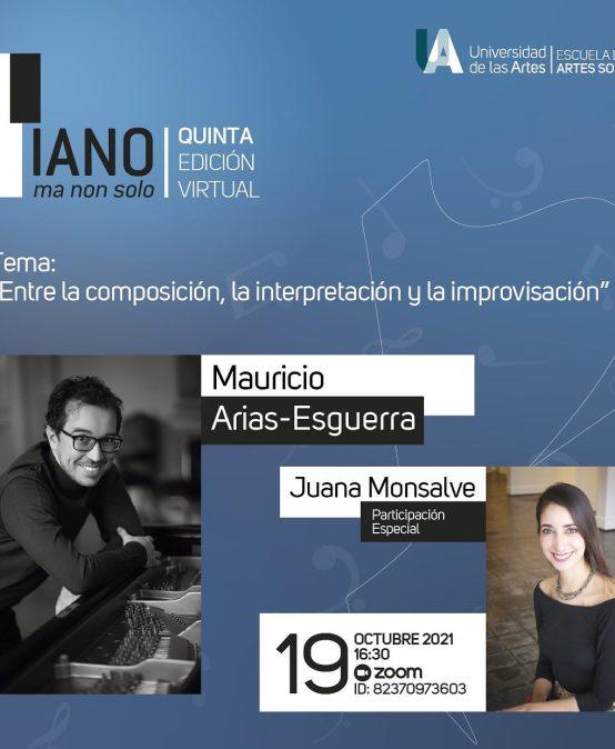 """Charla-concierto """"Entre la composición, la interpretación y la improvisación"""""""