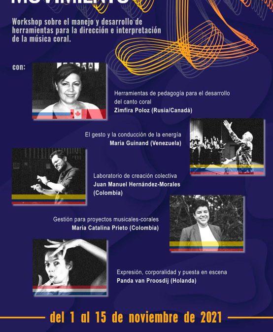 """Workshop """"Nuestro Canto en Movimiento"""""""