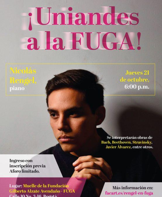 Nicolás Rengel, piano (Ecuador)   ¡Uniandes a la Fuga!