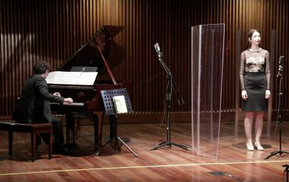 """Estreno de """"De Paso"""" para mezzosoprano y piano, de Mauricio Arias-Esguerra"""