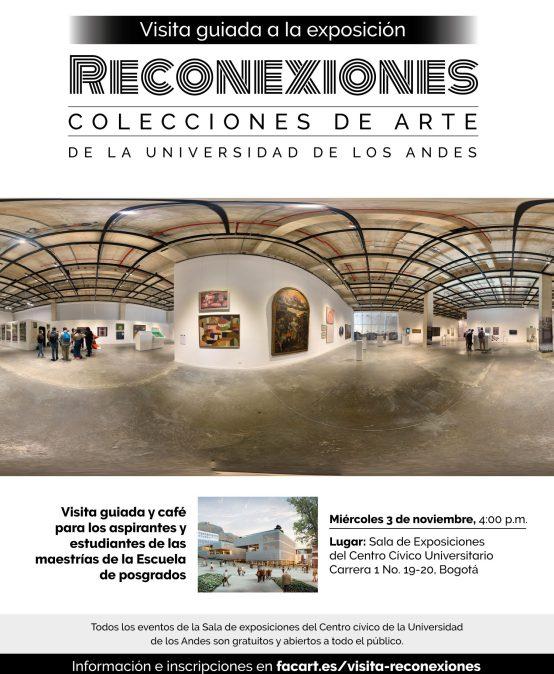 Visita guiada a la Exposición Reconexiones: las colecciones de Arte de la Universidad de los Andes